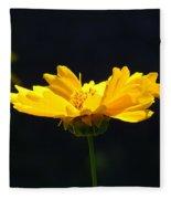 Yellow Flowers2 Fleece Blanket