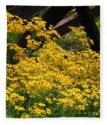 Yellows Fleece Blanket