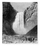 Yellowstone: Grand Falls Fleece Blanket