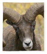 Yellowstone Ram Fleece Blanket