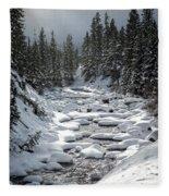 Yellowstone -  Soda Butte Creek Fleece Blanket