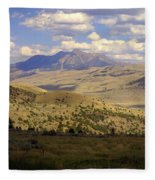 Yellowstone View Fleece Blanket