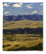 Yellowstone Vista 2 Fleece Blanket