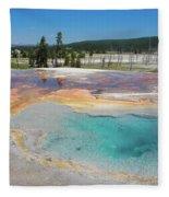 Yellowstone's Firehole Fleece Blanket
