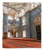 Yeni Cami Mosque Fleece Blanket
