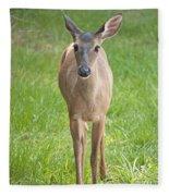 Yes Deer Fleece Blanket