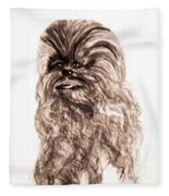 Yeti Has The Final Word Fleece Blanket