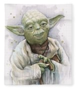Yoda Fleece Blanket