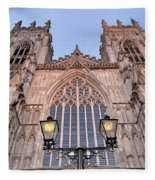 York Minster Fleece Blanket