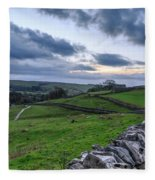 Yorkshire Dales - 31 Fleece Blanket