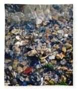 Yorktown Beach  Fleece Blanket