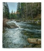 Yosemite #1 Fleece Blanket