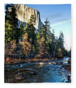 Yosemite Afternoon Fleece Blanket