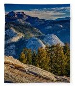 Yosemite Morning Fleece Blanket
