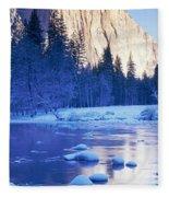 Yosemite National Park, California Fleece Blanket
