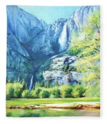 Yosemite Park Fleece Blanket