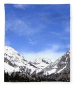 Yosemite Park Fleece Blanket