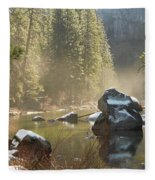 Yosemite Spring Fleece Blanket