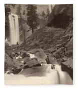 Yosemite: Vernal Fall Fleece Blanket