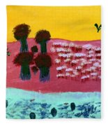 You River Fleece Blanket
