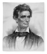 Young Abe Lincoln Fleece Blanket