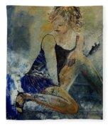 Young Girl 5689474 Fleece Blanket