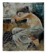 Young Girl  679050 Fleece Blanket