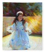 Young Queen Esther Fleece Blanket