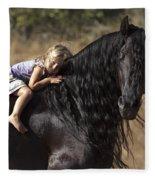 Young Rider Fleece Blanket