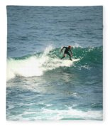 Young Surfers Four Fleece Blanket