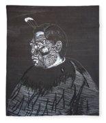 Young Tane Fleece Blanket