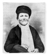 Young Thomas Edison, 1861 Fleece Blanket