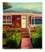 Your Home Commission Me Fleece Blanket