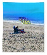 Your Own Private Beach Fleece Blanket