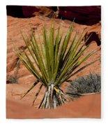 Yucca Beauty Fleece Blanket