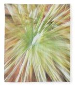Yucca Burst Fleece Blanket