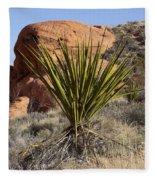 Yucca Four Fleece Blanket