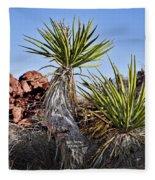 Yucca Pair Fleece Blanket