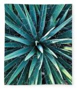Yucca Plant Detail Fleece Blanket