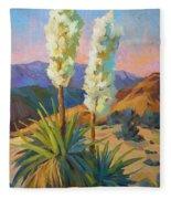 Yuccas Fleece Blanket