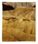Zabriskie Point, Death Valley Fleece Blanket