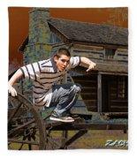 Zach  Fleece Blanket