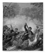 Zachary Taylor , 1784-1850 Fleece Blanket
