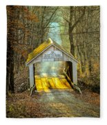 Zacke Cox Covered Bridge Fleece Blanket