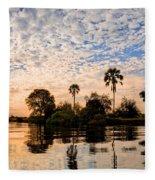Zambezi Sunset Fleece Blanket