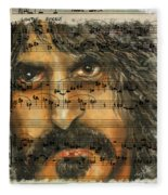 Zappa The Walz  Fleece Blanket