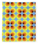 Zappwaits Retro 7 Fleece Blanket