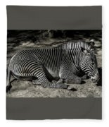 Zebra 2 Fleece Blanket