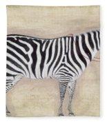 Zebra, C1620 Fleece Blanket