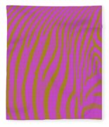 Zebra Shmebra Fleece Blanket